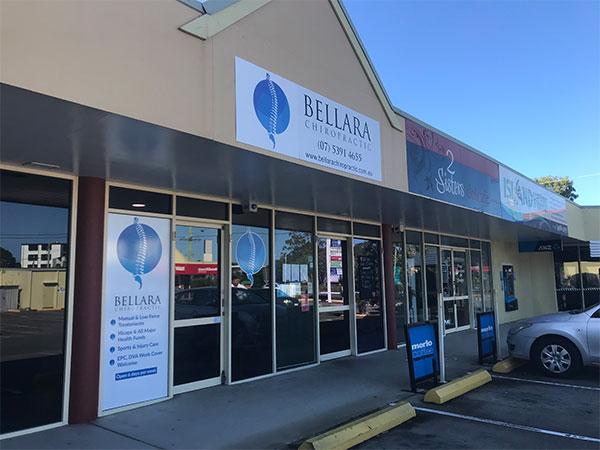 Image of new chiropractor clinic in Bellara Queensland