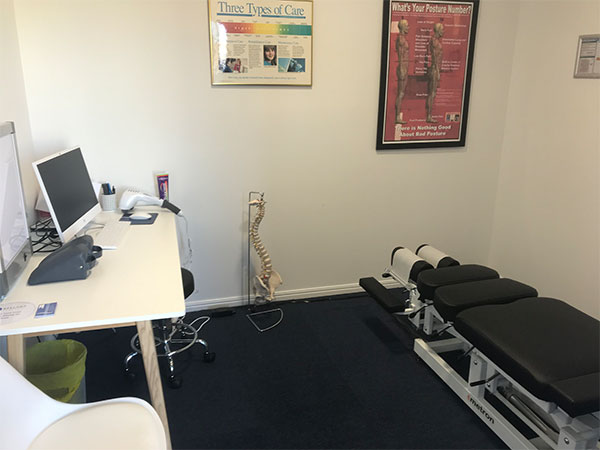 Image of Chiropractic Room at Bellara Chiropractic