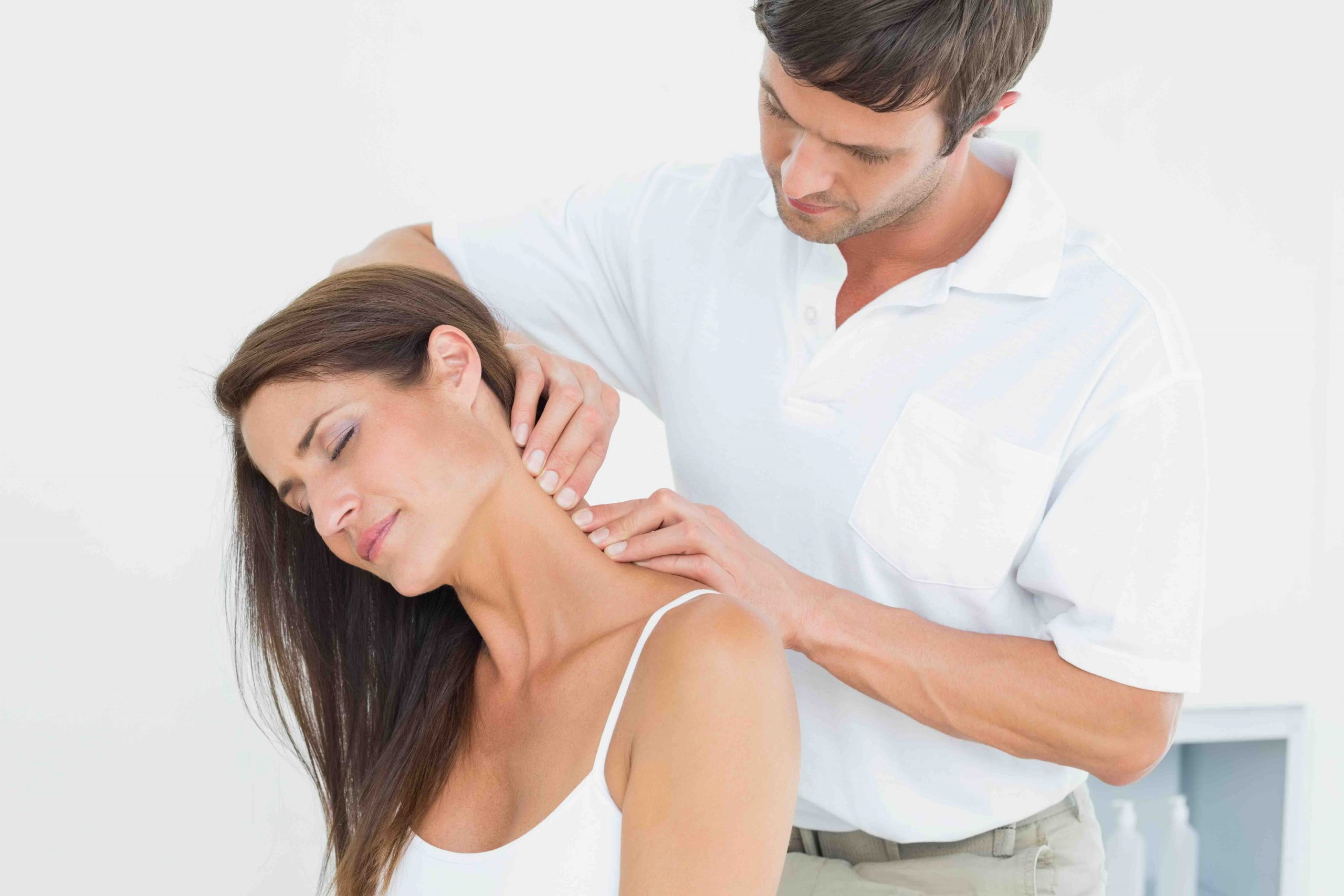 Image of manual chiropractic techniques